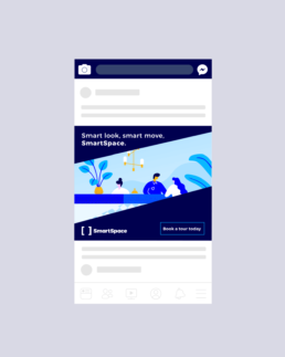SmartSpace Mobile Mock Up