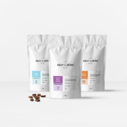 Retail Product Packaging Design for Daily Grind