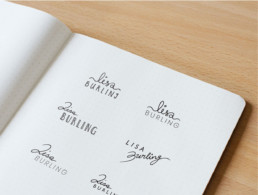 Bespoke Visual Identity Design for Lisa Burling