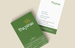 Brand Identity Design The Pines